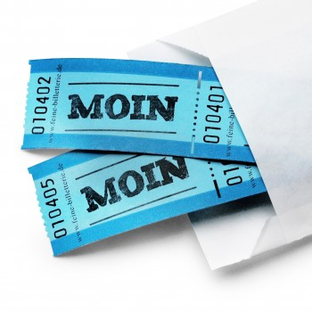 "LUCKY TICKET ""MOIN"""