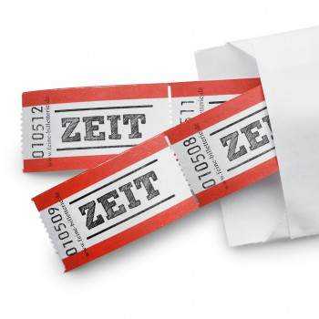 "LUCKY TICKET ""ZEIT"""