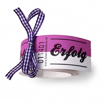 "LUCKY TICKETS ""ERFOLG"" (violet)"