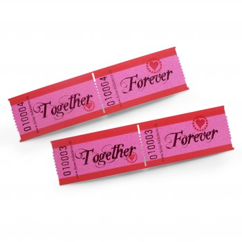 "LUCKY TICKET ""TOGETHER FOREVER"""