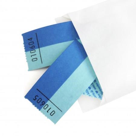 BLANKO-WERTMARKE (hellblau-blau)