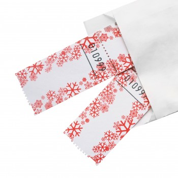 "BLANK LUCKY TICKET ""WINTER"" (red/white)"