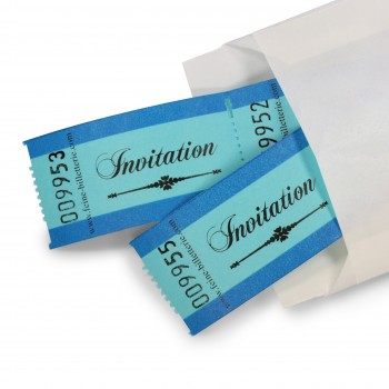 "LUCKY TICKETS ""INVITATION"""