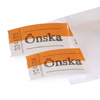 "LUCKY TICKET ""ÖNSKA"""