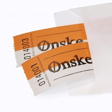"""LUCKY TICKET """"ØNSKE"""""""