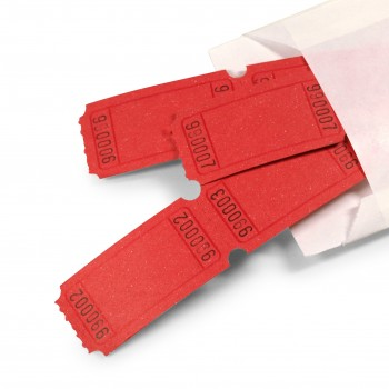 LUCKY TICKET US-STYLE blank (red)