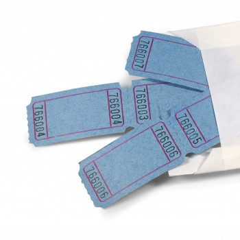 LUCKY TICKET US-STYLE blank (blue)