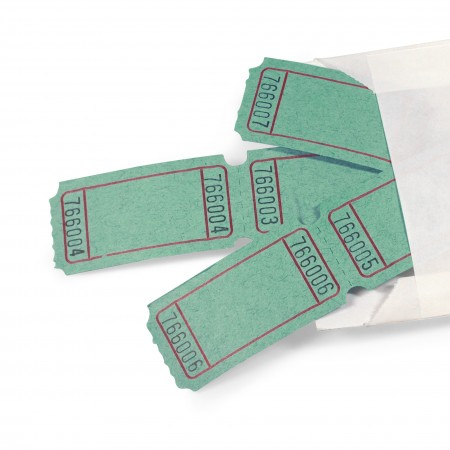 LUCKY TICKET US-STYLE blank (green)