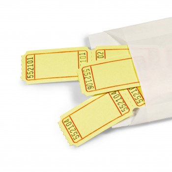 LUCKY TICKET US-STYLE blank (yellow)