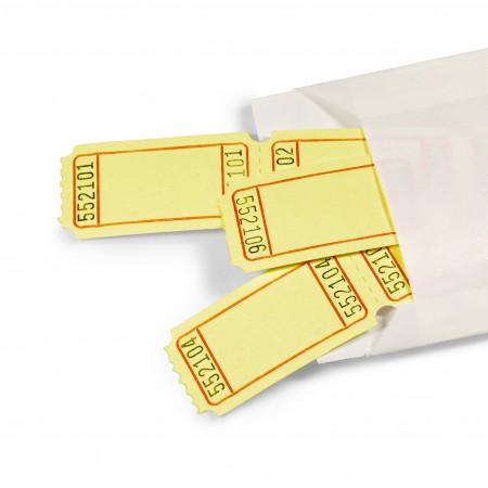 LUCKY TICKET US-STYLE blank (yellow)
