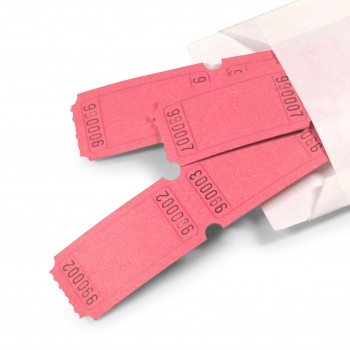 LUCKY TICKET US-STYLE blank (pink)