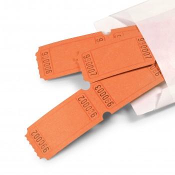 LUCKY TICKET US-STYLE blank (orange)