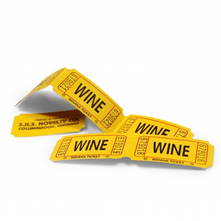 "LUCKY TICKET US-STYLE ""Wine"" (yellow)"