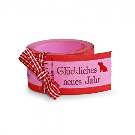 """LUCKY TICKETS """"GLÜCKLICHES NEUES JAHR"""""""