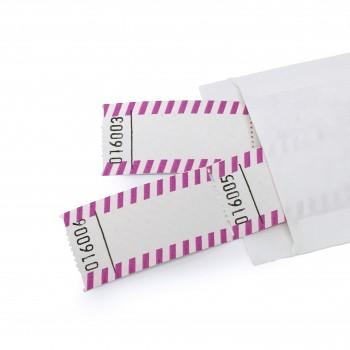 BLANKO-WERTMARKE (lila-weiß)