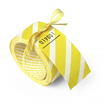 BLANK LUCKY TICKETS (yellow striped)