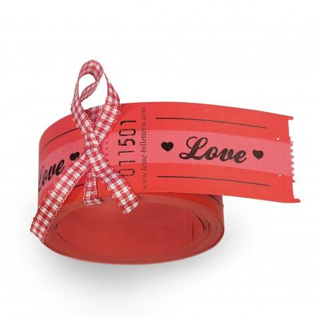 "LUCKY TICKETS ""LOVE"""